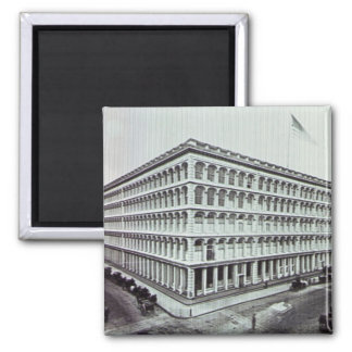 A.T. Stewart's Department Store NYC Vintage Fridge Magnet