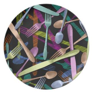 A Table ! Melamine Plate