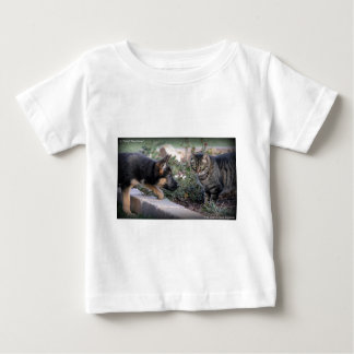 A Tail of Two Kittys Baby T-Shirt