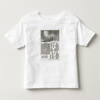 A tailor's workshop and patterns, from the 'Encycl Toddler T-shirt