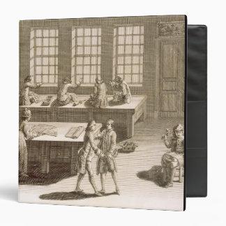 A tailor's workshop, from the 'Encyclopedie des Sc Binder