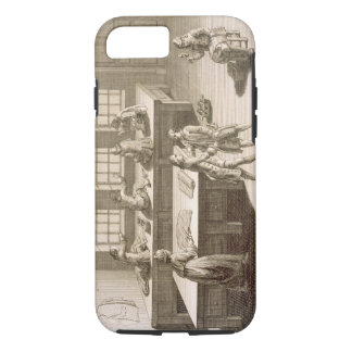 A tailor's workshop, from the 'Encyclopedie des Sc iPhone 7 Case