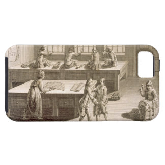 A tailor's workshop, from the 'Encyclopedie des Sc iPhone SE/5/5s Case