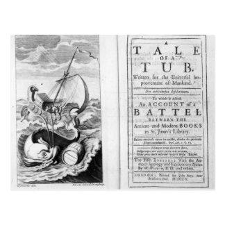 'A Tale of a Tub' Postcard