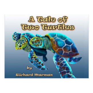 A Tale of Two Turtles Postcard