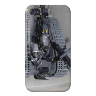 A Talon 3B robot unit climbing a flight of stai iPhone 4/4S Cover