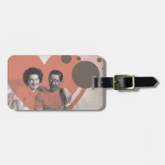 a tangible dream luggage tag