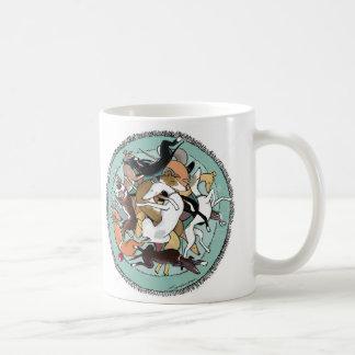"A ""Tangle"" of Iggies coffee mug"