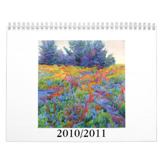 A Tangled Place 2010 2011 Wall Calendar