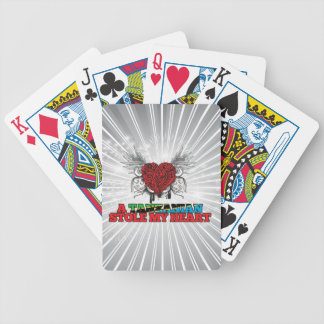 A Tanzanian Stole my Heart Bicycle Playing Cards