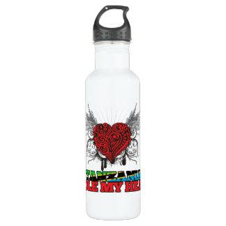 A Tanzanian Stole my Heart Stainless Steel Water Bottle
