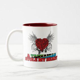 A Tanzanian Stole my Heart Two-Tone Coffee Mug