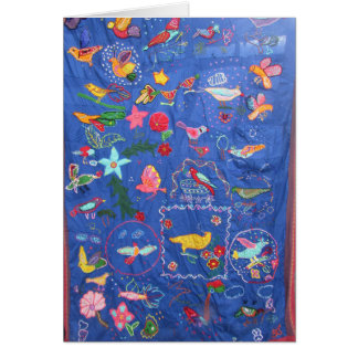 A Tapestry of Birds Greetings Card