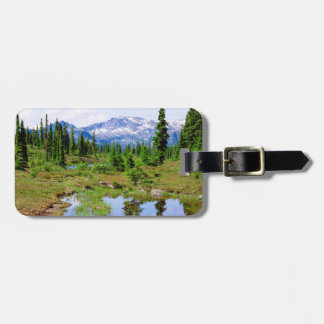 A tarn in the backcountry of Vancouver Island Bag Tag