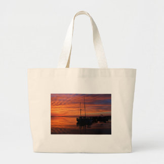 A Tarpon Tryst Large Tote Bag