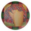 A Tart In Kilt plate