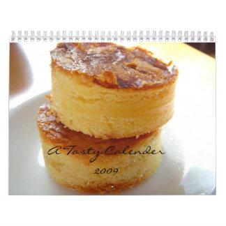 A Tasty Calender 2009 Calendar