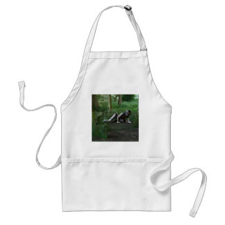 A tasty looking snack adult apron