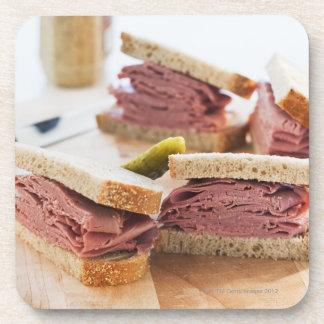 A tasty sandwich coaster