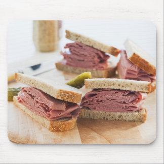 A tasty sandwich mouse pad