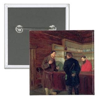 A Tavern, 1889 Buttons