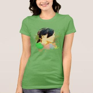 A Tayal's little girl in Smangus,Taiwan Shirt