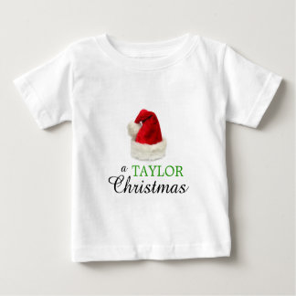 A TAYLOR Christmas Baby T-Shirt