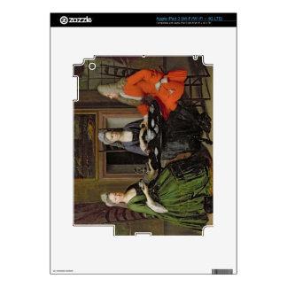 A Tea Party (oil on canvas) iPad 3 Skin