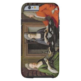 A Tea Party (oil on canvas) Tough iPhone 6 Case