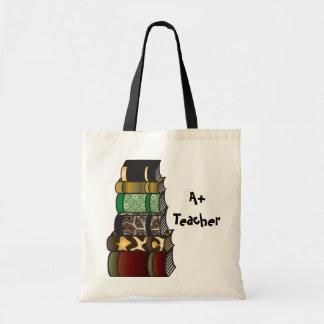 A+ Teacher Books Budget Tote Bag