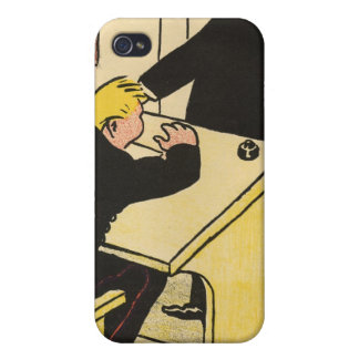 A teacher reprimands his pupil from Crimes iPhone 4/4S Cover