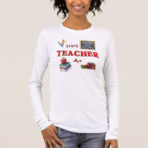 A Teachers Do It With Class Long Sleeve T-Shirt