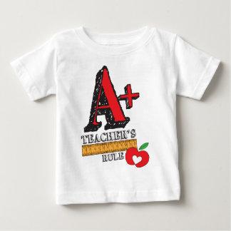 A+ Teachers Rule Baby T-Shirt