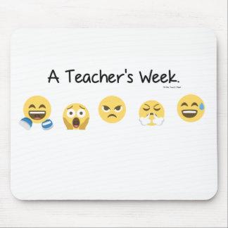 A Teacher's Week Mousepad
