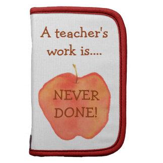 A Teacher's Work Folio Planner
