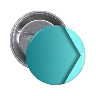 A  teal background 2 inch round button