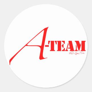A-Team Classic Round Sticker