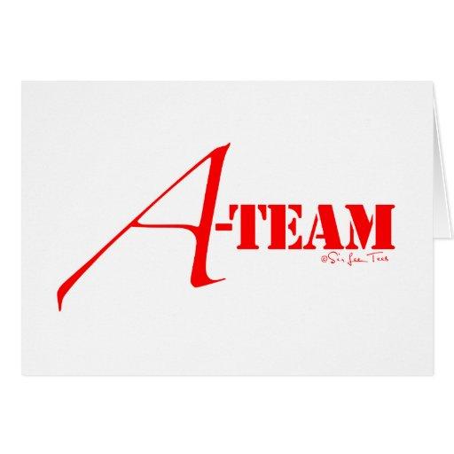 A-Team Greeting Card