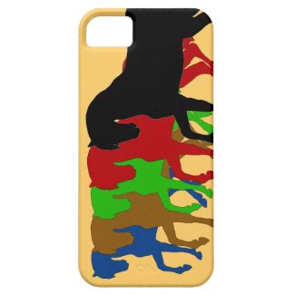 A Team Of Horses, i-phone 5 cover iPhone 5 Cover