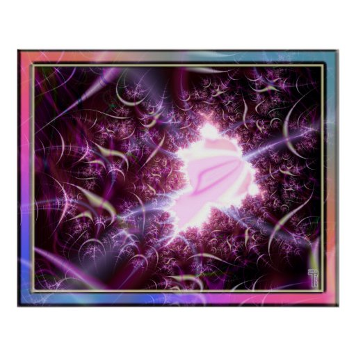 A Tear in the Space Time Continuum  Art Print