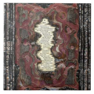 A Tear Ceramic Tile