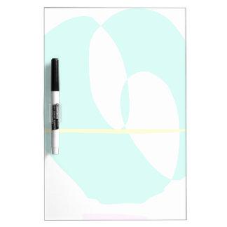 A Teardrop Dry-Erase Board