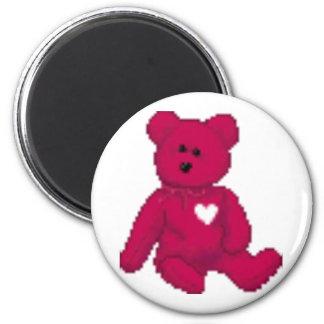 a teddy bear magnet