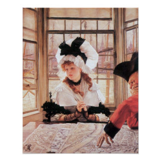 A tedious history by James Tissot Print