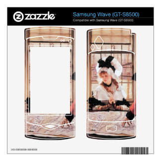 A tedious history by James Tissot Decals For Samsung Wave