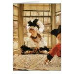 A Tedious Story by James Tissot Greeting Cards