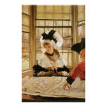 A Tedious Story by James Tissot Print