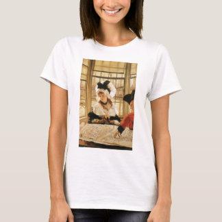 A Tedious Story by James Tissot, Vintage Fine Art T-Shirt