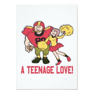A Teenage Love Card