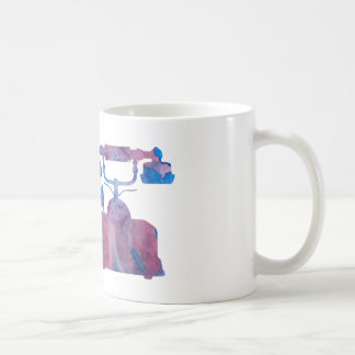 A telephone coffee mug